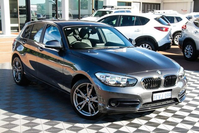 Used BMW 1 Series F20 LCI 118i Steptronic Sport Line Attadale, 2015 BMW 1 Series F20 LCI 118i Steptronic Sport Line Grey 8 Speed Sports Automatic Hatchback