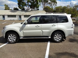 2011 Mitsubishi Pajero NT MY11 Platinum White 5 Speed Sports Automatic Wagon