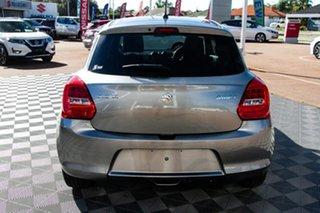 2021 Suzuki Swift AZ Series II GL Navigator Premium Silver 5 Speed Manual Hatchback.