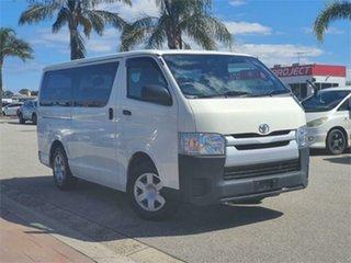 2015 Toyota HiAce KDH201V DX White Automatic Van.