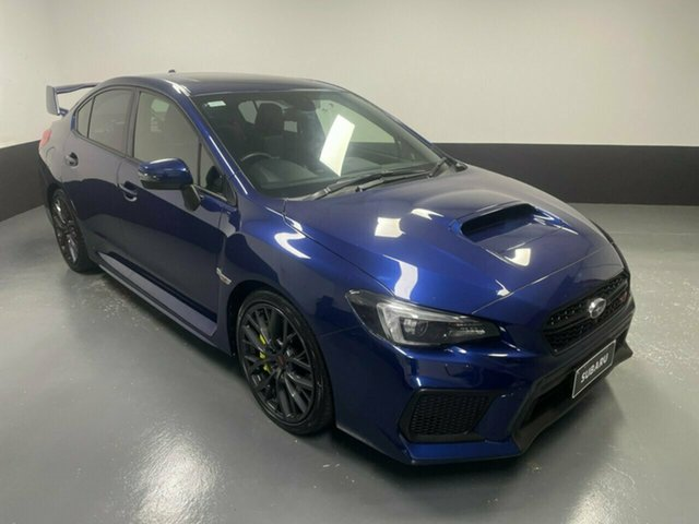 Used Subaru WRX V1 MY18 STI AWD spec.R Hamilton, 2017 Subaru WRX V1 MY18 STI AWD spec.R Blue 6 Speed Manual Sedan