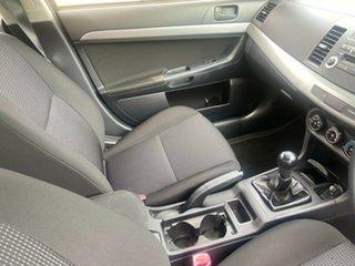 2009 Mitsubishi Lancer CJ MY10 VR Red 5 Speed Manual Sedan