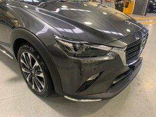 2021 Mazda CX-3 DK4W7A sTouring SKYACTIV-Drive i-ACTIV AWD Machine Grey 6 Speed Sports Automatic.
