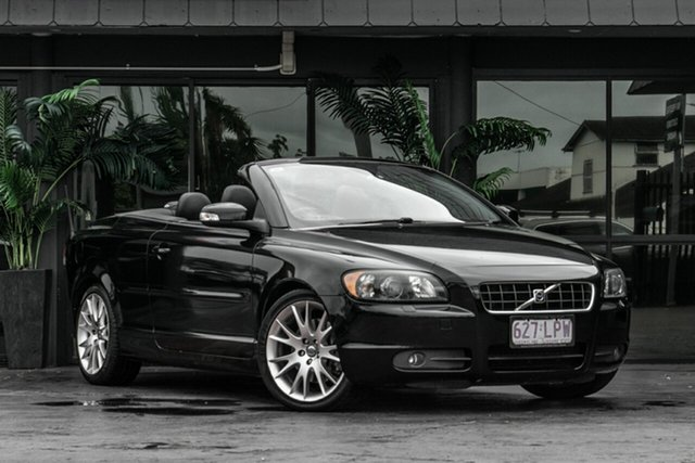 Used Volvo C70 M Series MY09 T5 Bowen Hills, 2009 Volvo C70 M Series MY09 T5 Black 5 Speed Sports Automatic Convertible