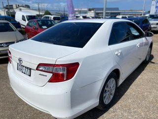 2013 Toyota Camry ASV50R Altise White 6 Speed Sports Automatic Sedan