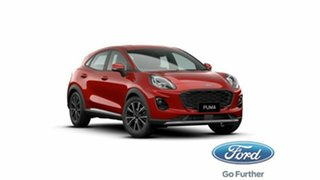 2020 Ford Puma JK 2020.75MY Puma Lucid Red 7 Speed Sports Automatic Dual Clutch Wagon
