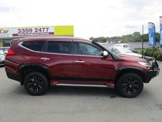 2017 Mitsubishi Pajero Sport QE MY17 GLS Red 8 Speed Sports Automatic Wagon