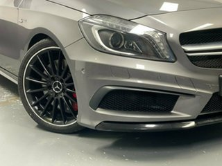 2013 Mercedes-Benz A-Class W176 A45 AMG SPEEDSHIFT DCT 4MATIC Grey 7 Speed.