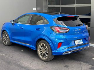 2020 Ford Puma JK 2020.75MY ST-Line V Blue 7 Speed Sports Automatic Dual Clutch Wagon