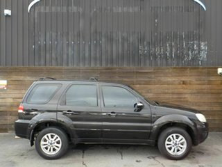 2008 Ford Escape ZD Black 4 Speed Automatic SUV.