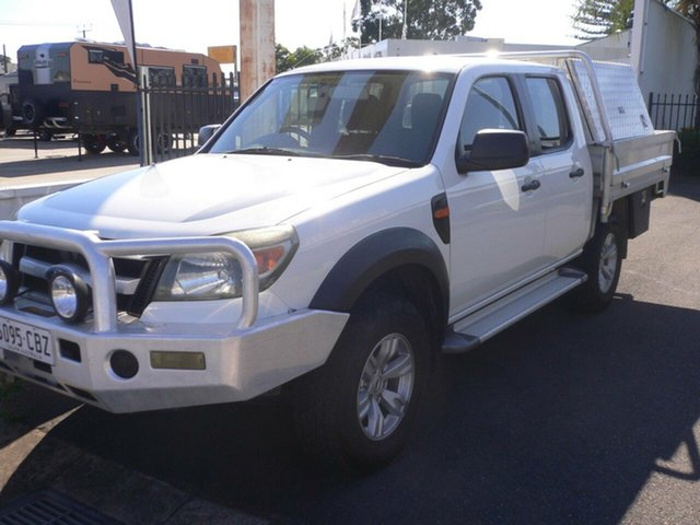 Used Ford Ranger PK XL Crew Cab 4x2 Hi-Rider St Marys, 2010 Ford Ranger PK XL Crew Cab 4x2 Hi-Rider White 5 Speed Automatic Utility