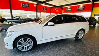 2014 Mercedes-Benz C-Class S205 C250 Estate 7G-Tronic + White 7 Speed Sports Automatic Wagon