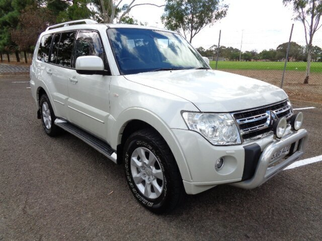Used Mitsubishi Pajero NT MY11 Platinum Elizabeth, 2011 Mitsubishi Pajero NT MY11 Platinum White 5 Speed Sports Automatic Wagon
