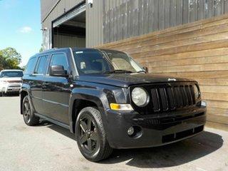 2010 Jeep Patriot MK MY2010 Sport CVT Auto Stick Black 6 Speed Constant Variable Wagon.