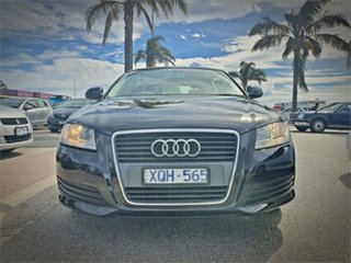 2010 Audi A3 8P Attraction Black Sports Automatic Dual Clutch Hatchback.