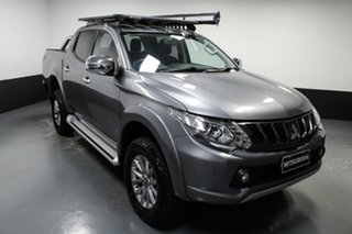 2018 Mitsubishi Triton MQ MY18 GLS Double Cab Titanium 6 Speed Manual Utility.