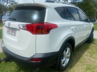 2014 Toyota RAV4 ASA44R MY14 GXL AWD White 6 Speed Sports Automatic Wagon
