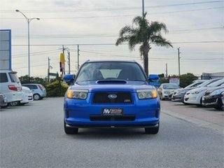 2006 Subaru Forester SG5 Cross Sports S Edition Blue Automatic Wagon.
