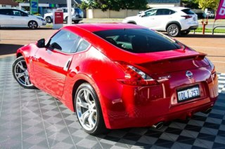 2010 Nissan 370Z Z34 Red 7 Speed Sports Automatic Coupe.