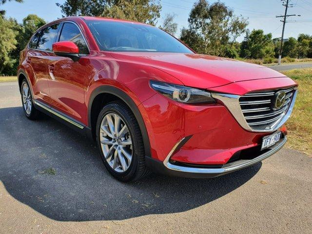 Used Mazda CX-9 TC Geelong, 2016 Mazda CX-9 TC Azami Red Sports Automatic Wagon