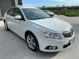 2014 Holden Cruze JH Series II MY14 Equipe White 6 Speed Sports Automatic Hatchback.
