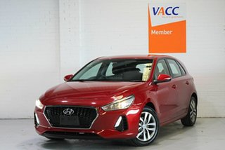 2019 Hyundai i30 PD2 MY19 Active Red 6 Speed Sports Automatic Hatchback.