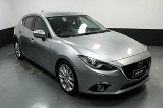2014 Mazda 3 BM5438 SP25 SKYACTIV-Drive GT Silver 6 Speed Sports Automatic Hatchback.