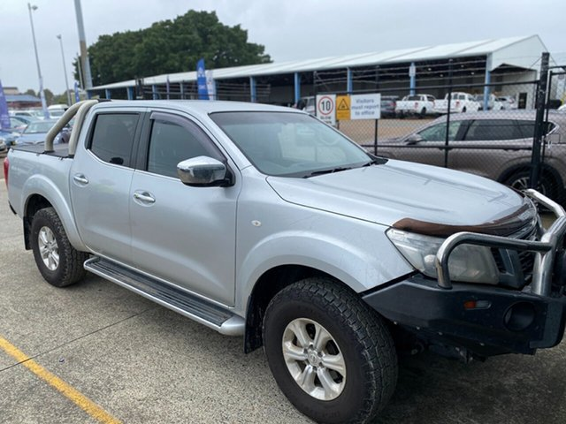 Used Nissan Navara D23 ST Wickham, 2015 Nissan Navara D23 ST Brilliant Silver 6 Speed Manual Utility