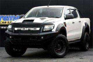 2012 Ford Ranger PX XL White 6 Speed Manual Utility.