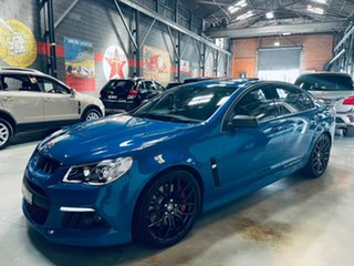 2014 Holden Special Vehicles ClubSport Gen-F MY14 R8 Blue 6 Speed Manual Sedan