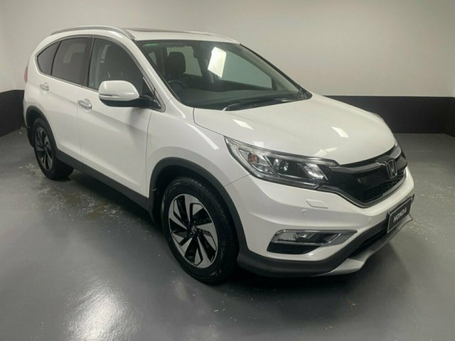 Used Honda CR-V RM Series II MY17 VTi-L Hamilton, 2016 Honda CR-V RM Series II MY17 VTi-L White Orchid 5 Speed Sports Automatic Wagon