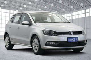2017 Volkswagen Polo 6R MY17.5 66TSI DSG Urban Grey 7 Speed Sports Automatic Dual Clutch Hatchback.