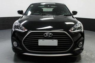 2017 Hyundai Veloster FS5 Series II SR Coupe Turbo Black 6 Speed Manual Hatchback.