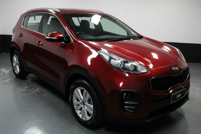 Used Kia Sportage QL MY17 Si 2WD Hamilton, 2017 Kia Sportage QL MY17 Si 2WD Red 6 Speed Sports Automatic Wagon