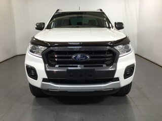 2019 Ford Ranger PX MkIII 2019.00MY Wildtrak White 10 Speed Sports Automatic Double Cab Pick Up