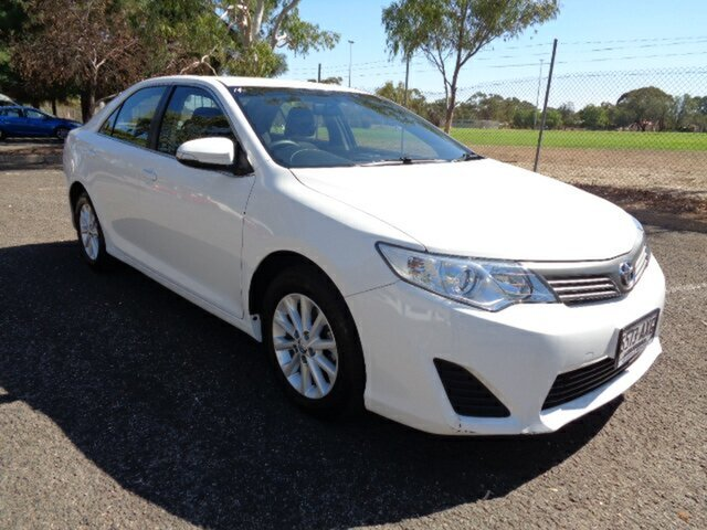Used Toyota Camry ASV50R Altise Elizabeth, 2013 Toyota Camry ASV50R Altise White 6 Speed Sports Automatic Sedan