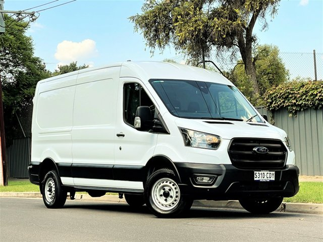 Used Ford Transit VO 2019.75MY 350L (Mid Roof) Hyde Park, 2019 Ford Transit VO 2019.75MY 350L (Mid Roof) Frozen White 6 Speed Manual Van