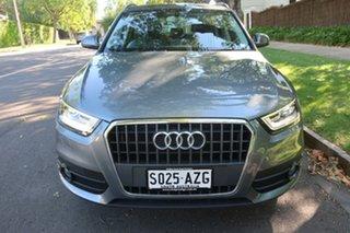 2014 Audi Q3 8U S-Tronic Silver 7 Speed Automatic.
