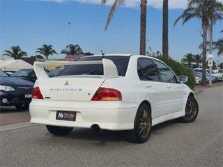 2001 Mitsubishi Lancer CT9A Evolution VII GSR White Manual Sedan