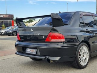 2001 Mitsubishi Lancer CT9A Evolution VII GSR Black Manual Sedan