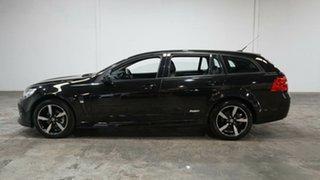 2016 Holden Commodore VF II MY16 SV6 Sportwagon Black Black 6 Speed Sports Automatic Wagon