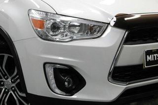 2015 Mitsubishi ASX XB MY15.5 XLS 2WD Starlight 6 Speed Constant Variable Wagon.