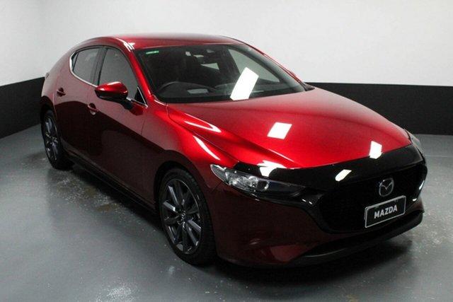 Used Mazda 3 BP2HLA G25 SKYACTIV-Drive GT Cardiff, 2019 Mazda 3 BP2HLA G25 SKYACTIV-Drive GT Red 6 Speed Sports Automatic Hatchback