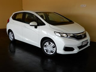 2018 Honda Jazz GK MY18 VTi White 5 Speed Manual Hatchback