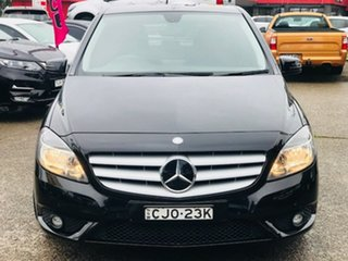 2012 Mercedes-Benz B-Class W246 B180 BlueEFFICIENCY DCT Black 7 Speed Sports Automatic Dual Clutch