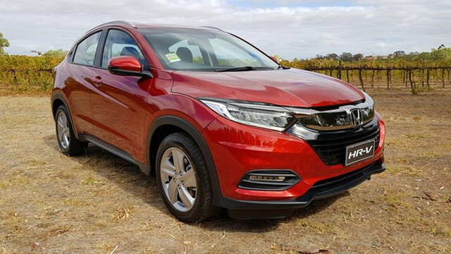 New Honda HR-V MY21 VTi-S Tanunda, 2021 Honda HR-V MY21 VTi-S Passion Red 1 Speed Automatic Hatchback