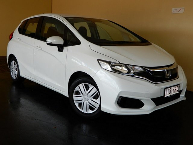 Used Honda Jazz GK MY18 VTi Toowoomba, 2018 Honda Jazz GK MY18 VTi White 5 Speed Manual Hatchback