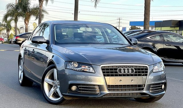 Used Audi A4 B8 8K MY13 Multitronic Cheltenham, 2012 Audi A4 B8 8K MY13 Multitronic Grey 8 Speed Constant Variable Sedan