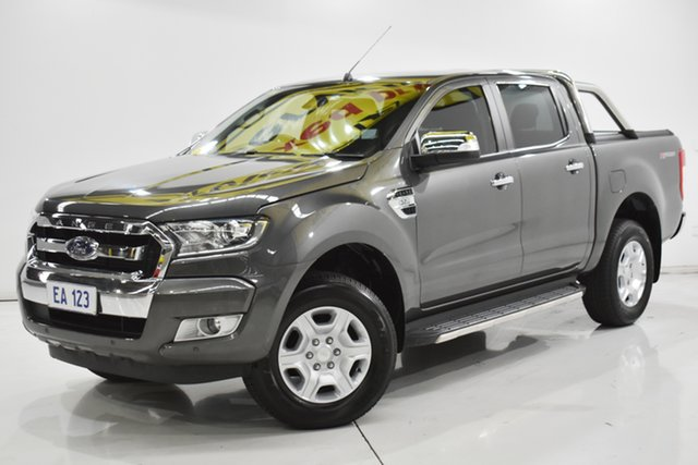 Used Ford Ranger PX MkII XLT Super Cab 4x2 Hi-Rider Brooklyn, 2017 Ford Ranger PX MkII XLT Super Cab 4x2 Hi-Rider Grey 6 Speed Sports Automatic Utility
