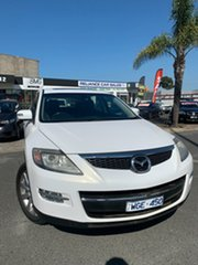 2007 Mazda CX-9 Luxury White 6 Speed Auto Activematic Wagon.